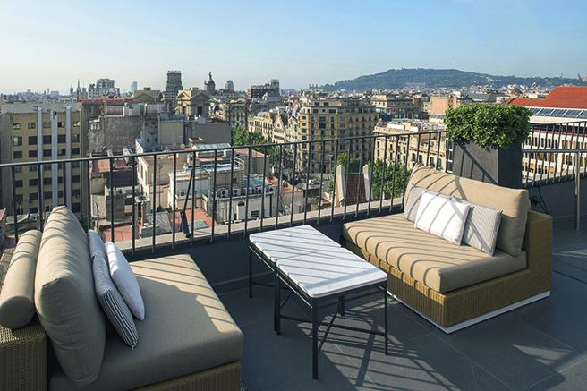 Barcelone, mosaïque de couleurs