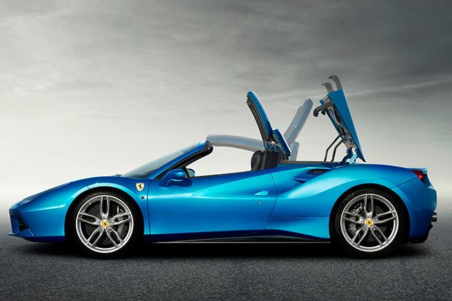 Ferrari 488 Spider, innovante et puissante
