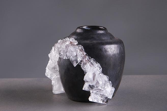 Les vases bijoux de Lukas Wegwerth
