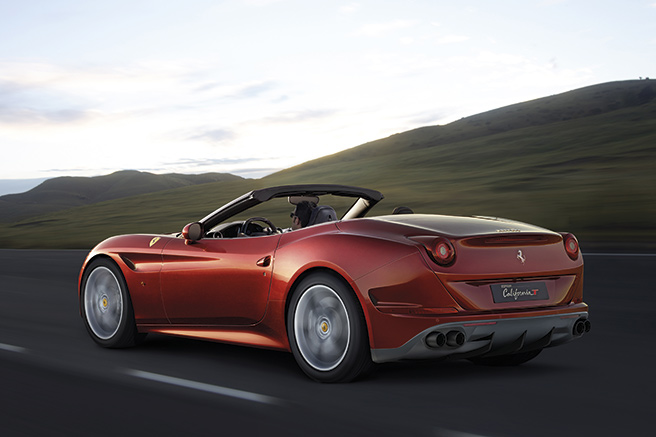 Ferrari California T, encore plus maniable