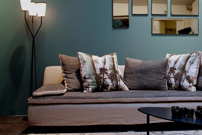 Caravane, l'art du canapé sur-mesure