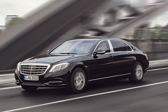 Mercedes S600 Maybach Guard