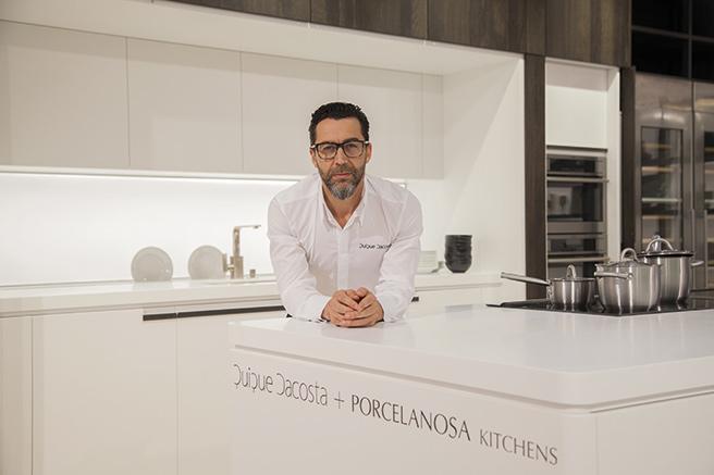 Porcelanosa, une cuisine de chef