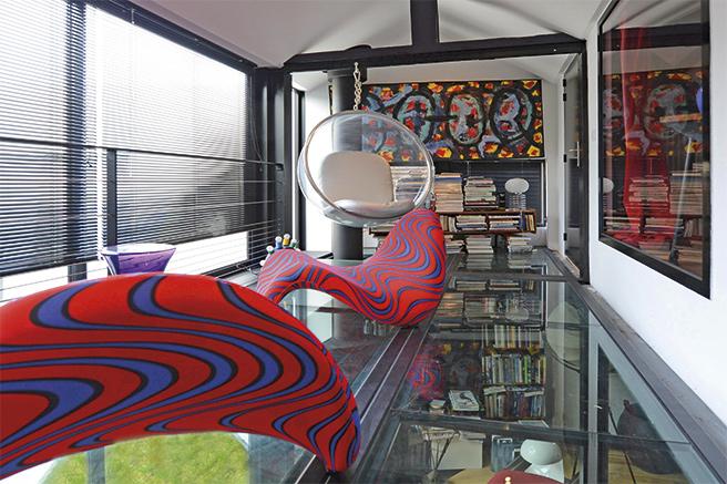 ateliers lofts associ s chic contemporain. Black Bedroom Furniture Sets. Home Design Ideas
