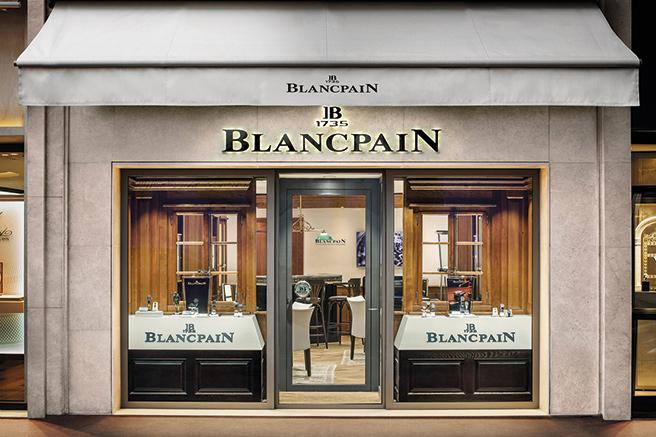 Blancpain, un nouvel écrin sur la Croisette