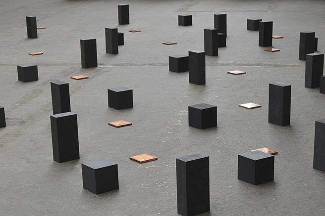Les sculptures de Carl Andre