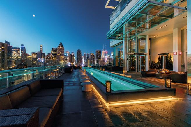 Les plus beaux roof tops d'hôtels du monde
