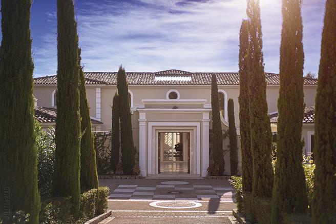 Une villa de maître sur les hauteurs de Cannes