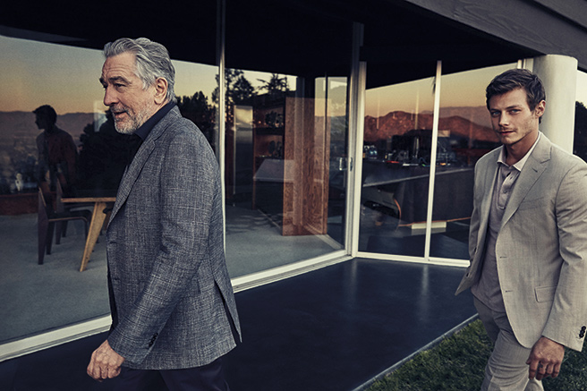 Ermenegildo Zegna s'offre De Niro