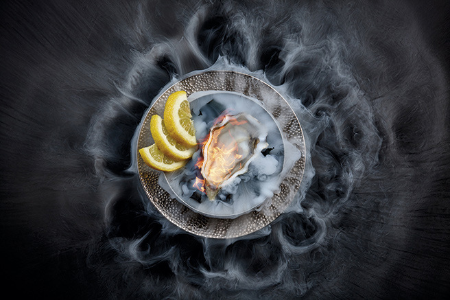 Cocktails moléculaires et happy oyster
