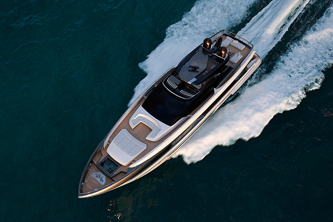 The sublime Riva 110'