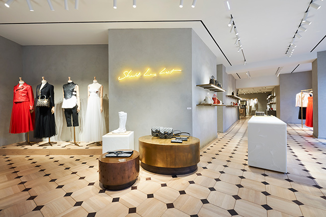 Pop up store Dior